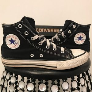 45c3fd6fb9d4 Converse Shoes - Converse High Tops (Youth Size 3  Women s Size 5)